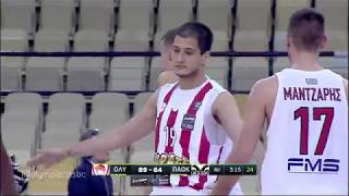 Highlights Olympiacos BC - PAOK BC 5-5-2018