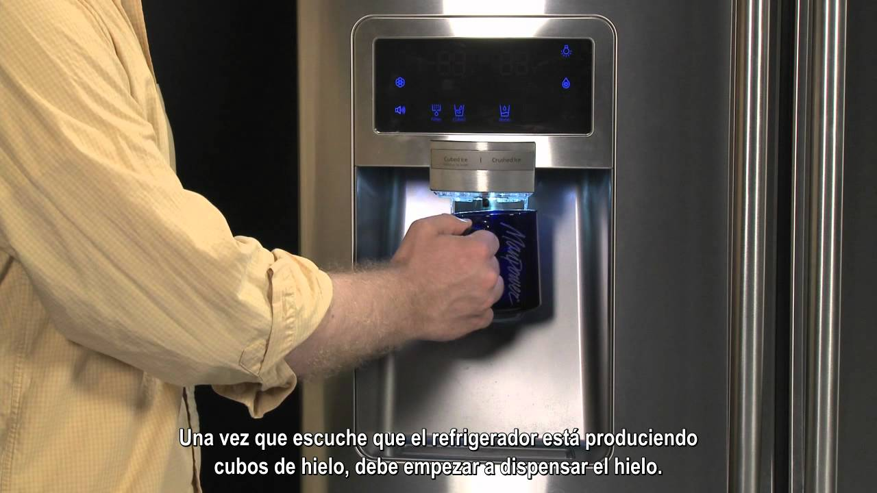 Como Arrancar El Dispensador De Hielo Youtube