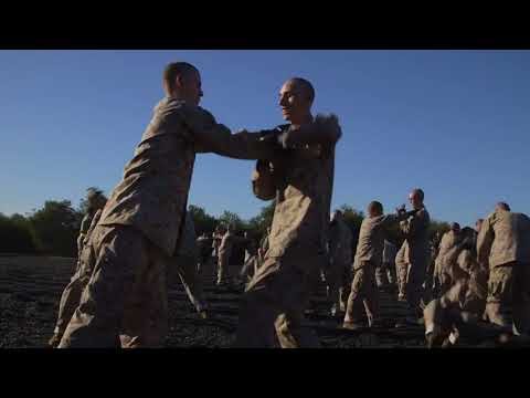 DFN: We Make Marines - MCMAP, MARINE CORPS RECRUIT DEPOT SAN DIEGO, CA, UNITED STATES, 02.21.2018