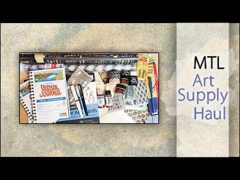 MTL Art Supply Haul