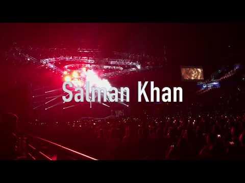 'Da-Bangg The Tour AusNz' Salman Khan in Sydney 2017