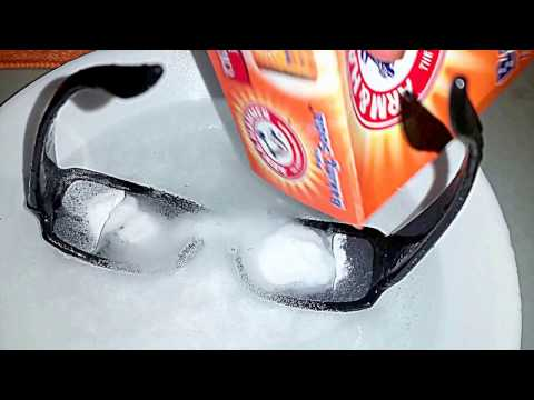 Removing Scratches From Sunglasses With Vinegar + Baking Soda