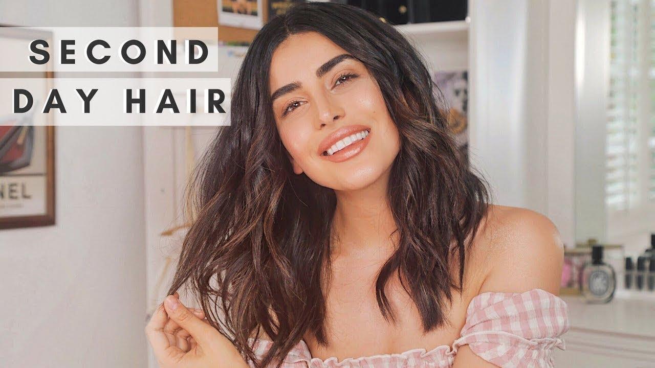 Soft Beach Waves Hair Tutorial Easy Youtube