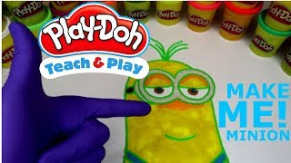 Making KEVIN The MINION Out Of PLAY DOH :) l MINIONS