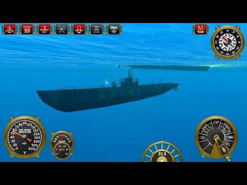 Silent Depth Submarine Sim Android Gameplay HD