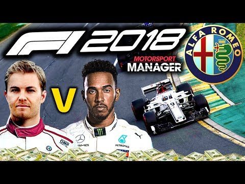 ROSBERG V HAMILTON IN SOUTH AFRICAN GP! - F1 2018 Alfa Romeo Manager Career Part 39