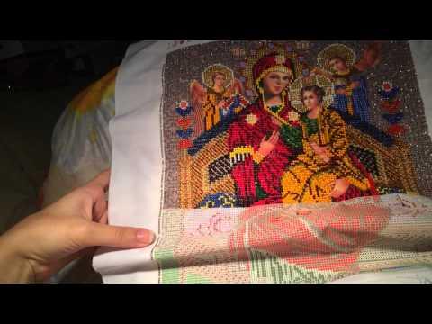 Вышивальное продвижение Икона Божьей Матери Всецарица