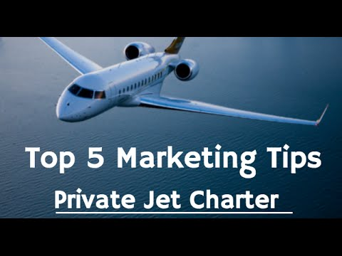 Private Jet Charter - Top 5 SEO & Lead Generation Tips