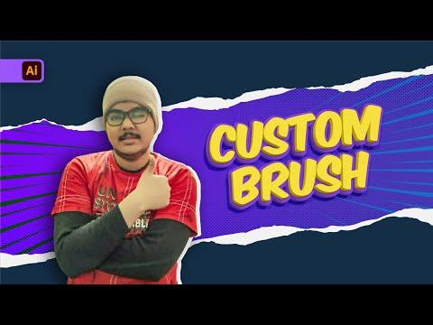 Paintbrush Tool | Blob Brush Tool | Custom Brushes In Illustrator | Adobe Illustrator For Beginners