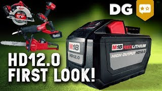 HD12.0 Battery Better Than Air, Corded AND Gas? Milwaukee Tool NPS18