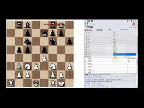 IM Aman Hambleton 3 minute chess blitz on ICC (ICC Software For Windows)