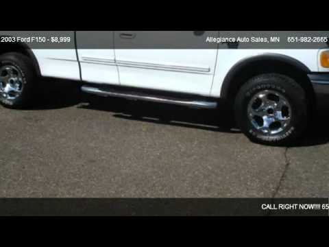 2003 Ford F150 XLT FX4 – for sale in Forest Lake, MN 55025