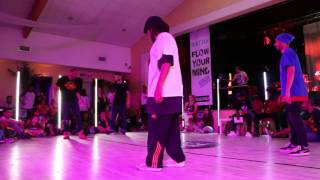 "LA SMALA (Bboy Salim & Souljaseush) VS Natho & Snake/SEMI-FINAL - ""Flow your mind"" - Auriol thumbnail"