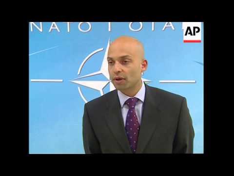 NATO reax to Bush calling for wider role in Iraq