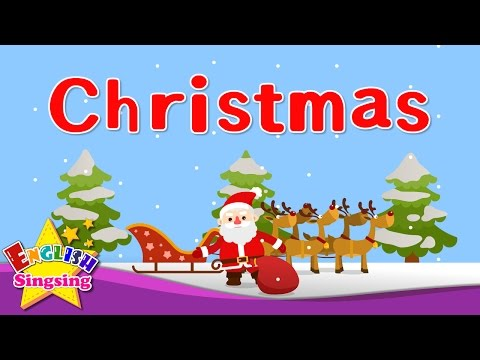 Kids vocabulary - Christmas - Christmas vocab - Learn English for kids - English educational video