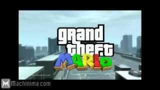 Grand Theft Mario 2 Grand Theft Auto IV Machinima