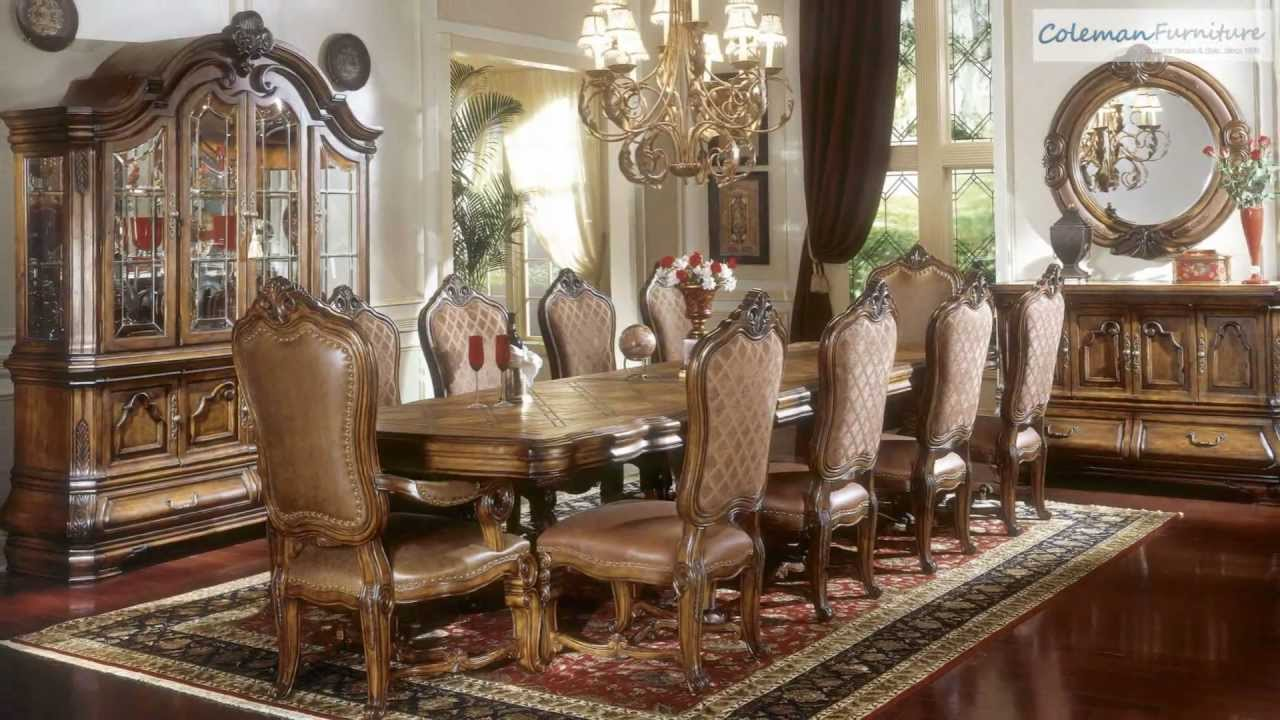 Tuscano Rectangular Dining Room Collection From Aico Furniture