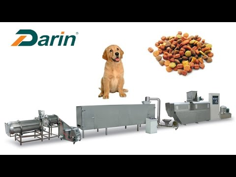 Dry Pet Food Processing Line / Dog Food/ Cat Food Making Machine | DARIN MACHINERY