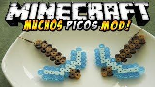 Minecraft - Mo' Pickaxes MOD (Picos de sandía, pan, bedrock, etc!) - ESPAÑOL TUTORIAL