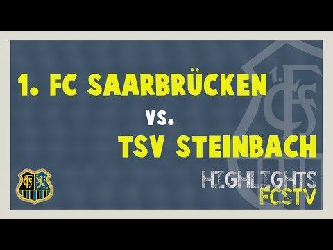 TSV Steinbach - 1. FC Saarbrücken - Spielzusammenfassung (38. Spieltag)