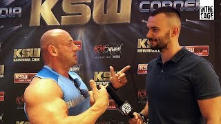 Robert Burneika przed KSW 39 Colosseum 2017 Video