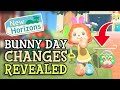 Animal Crossing New Horizons: BUNNY DAY 2021 CHANGES Differences & Details Explained March Update