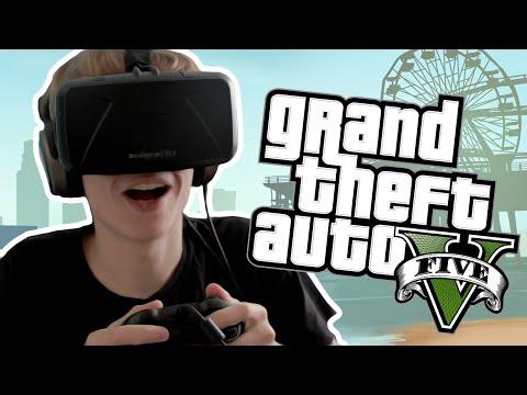 GTA 5 with the Oculus Rift: DK2 - TOTALLY SPEECHLESS!