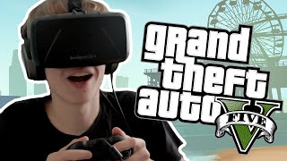 GTA 5 with the Oculus Rift: DK2 - TOTALLY SPEECHLESS!