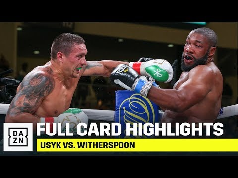 FULL CARD HIGHLIGHTS | Oleskandr Usyk vs. Chazz Witherspoon