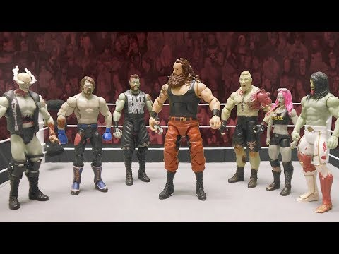 Braun Strowman battles Mattel's WWE Zombies: Action Figure Showdown