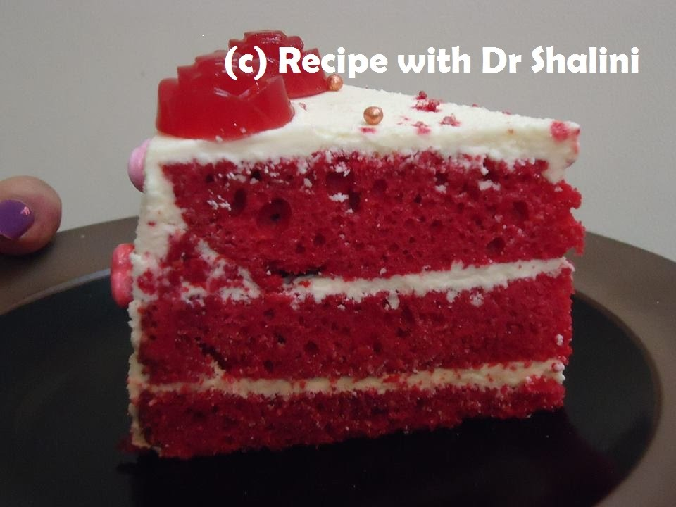 Red velvet cake without cocoa recipe