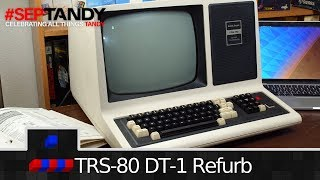 TRS-80 DT-1 Refurb Pt2: Cleaning and Testing   #SepTandy