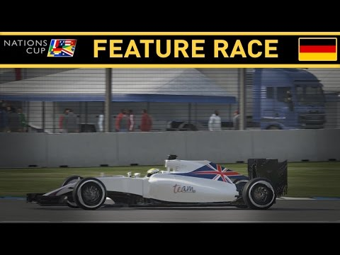F1 2016 NATIONS CUP PART 1: GERMANY FEATURE RACE