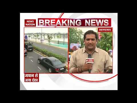 Abe visit: Japanese PM, wife don Indian attire, roadshow draws massive crowd