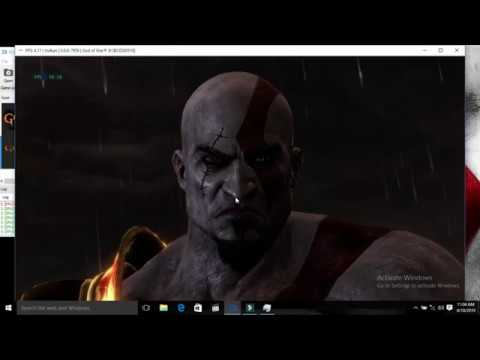 RPCS3 V0.0.6 Play God Of War3 || God Of War 3 Working In Low End Pc || How To Fix Black Screen Fix