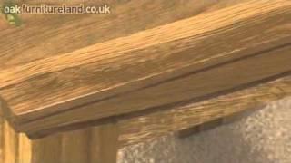 Tokyo Solid Oak Side Table From Oak Furniture Land