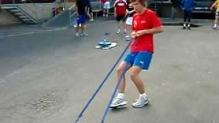 BSK håndball drar slede på OIS