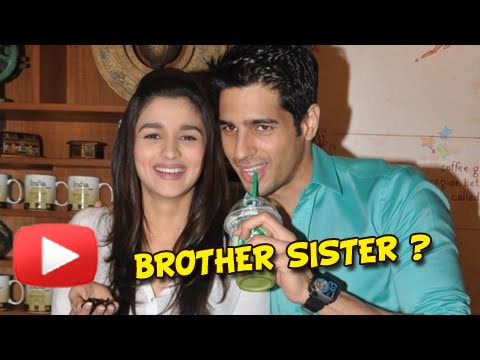 OMG!! Alia Bhatt & Siddharth Malhotra Are Brother And ...