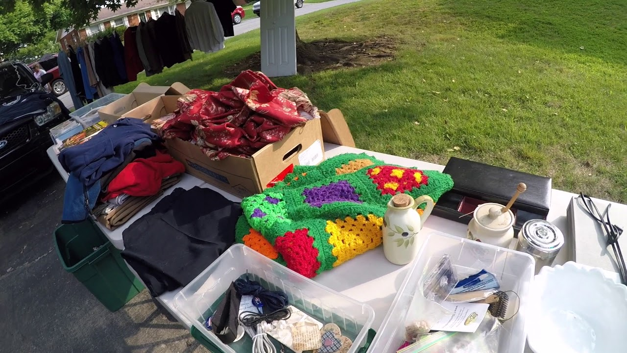 Hwy 127 Yard Sale Wins: It is too HOT for Yard Sales!