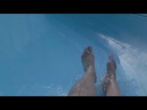 Водные горки в санатории Заполярье 2019