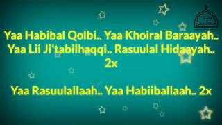 Full Lirik Ya Habibal Qolbi Syubbanul Muslimin duet vocal Guz Azmi feat Gus Ahkam (Bikin Baper)