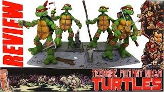 Review da coleção Tartarugas Ninja da NECA