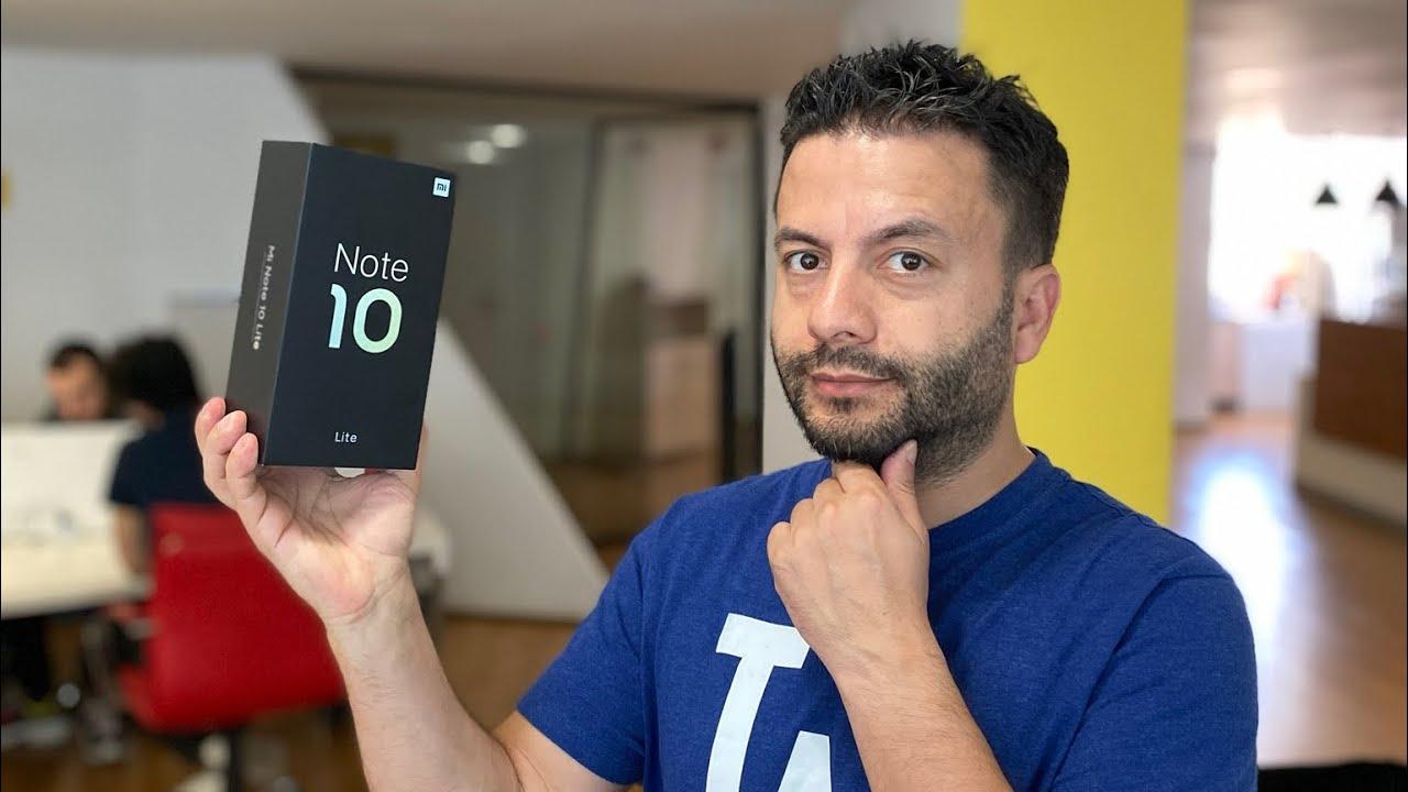 Xiaomi Mi Note 10 Lite aldık, kutudan çıkarıyoruz!