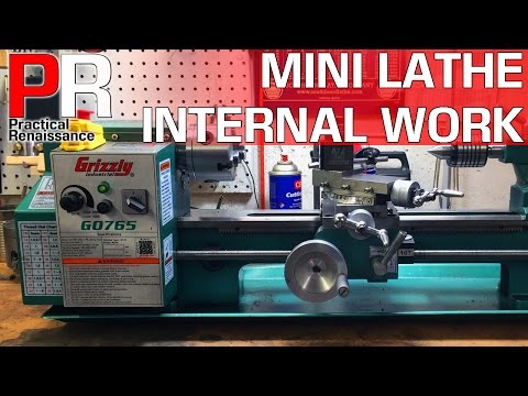 Grizzly G0765 7 X 14 Variable Speed Benchtop Lathe Vs