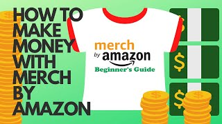 Make Money With Merch By Amazon! Get Paid To Design T Shirts! Quick and easy cash!! #007