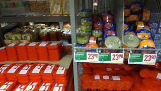 Цены на продукты в Швеции