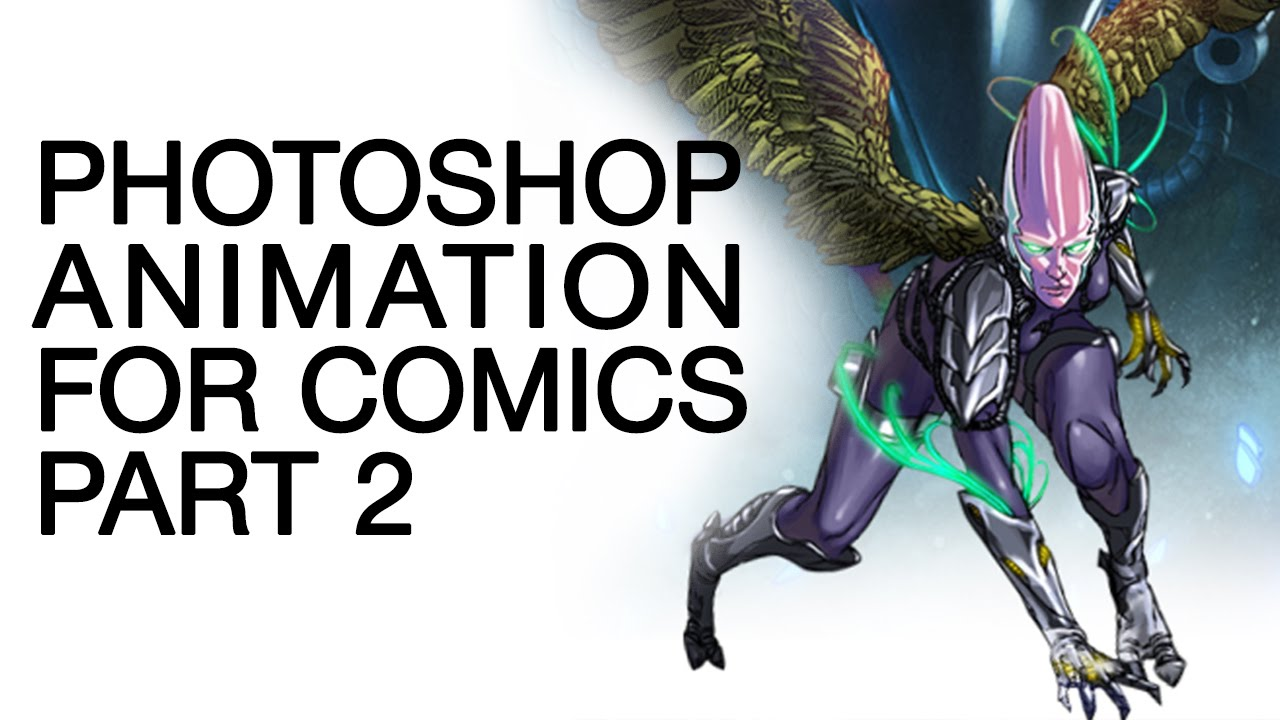 Animation In Photoshop  Foric Book Creators Part 2 Damian Wampler