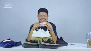 Khui Hộp adidas Yeezy Boost 350 v2 'Cream White'