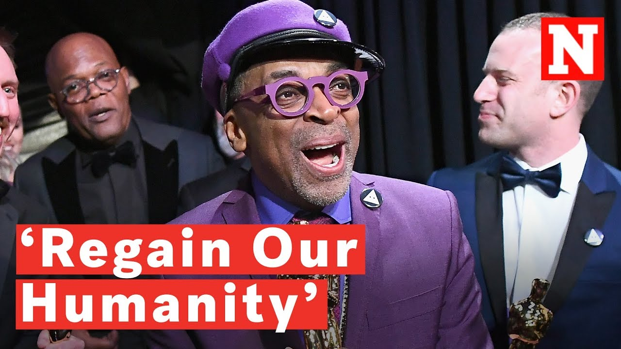 Spike Lee | Celebrates First Oscar Win!