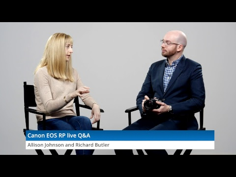 Canon EOS RP live Q&A by DPReview com